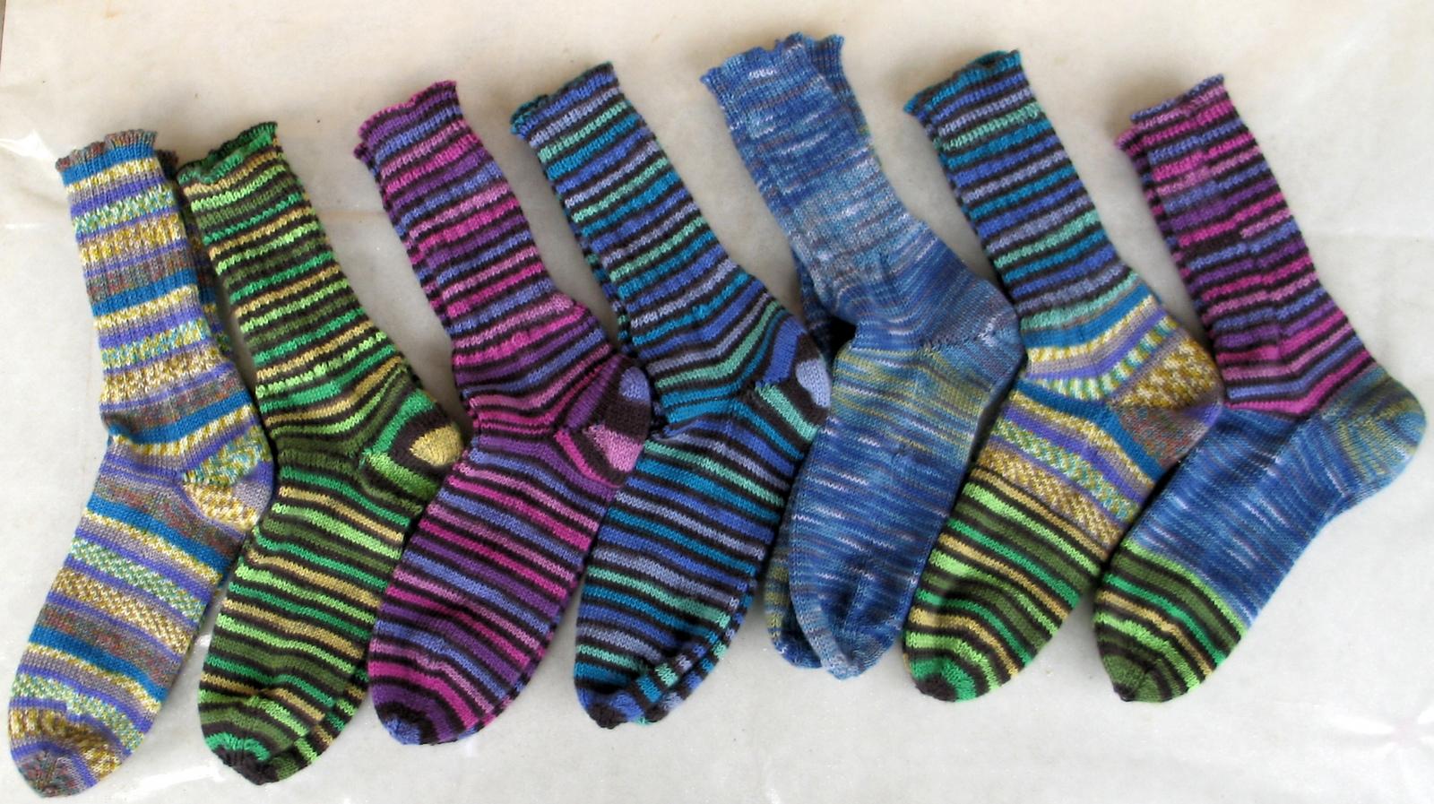 Socke1: Regia, dann drei Wollbutts