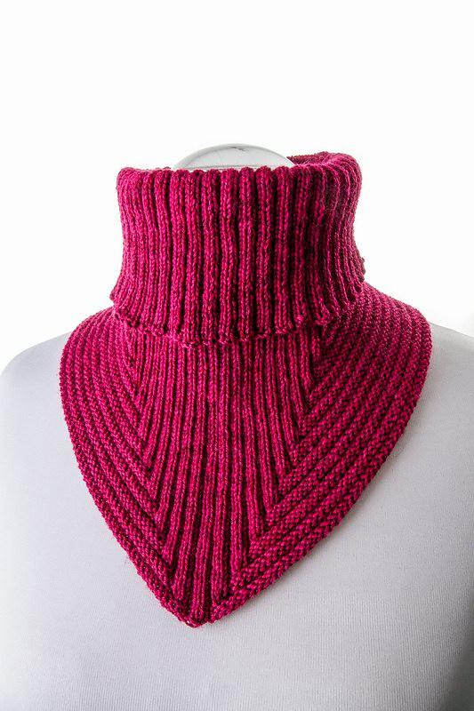Вязание на спицах манишки